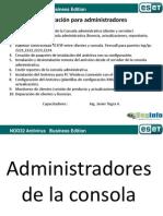 Instalación y Administración ESET Business