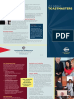 All About Toastmasters