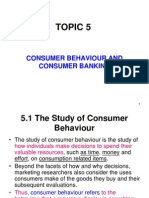 BAB 5 - Consumer Behaviour Consumer Banking