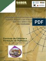 Currículo de Ciências e Formação do Professor