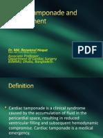 Cardiac Tamponade and Management