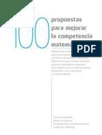 MATEMATICAS 100 PROPUESTAS