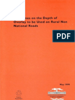 Guidelines on the-Depth of Overlay on Roads-0
