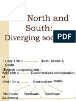 The North and South Diverging Societies