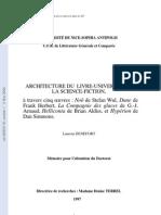 Architecture Du Livre-univers Dans La Science-fiction