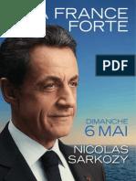 Profession de Foi Nicolas Sarkozy