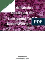 Sozialistisches Liederbuch Linksjugend Solid BaWü