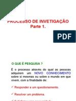 PROCESSO DE INVETIGAÇÃO