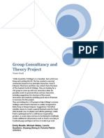 Group Consultancy and Theory Project