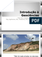Aula 1. Introdução à Geociências