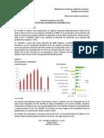 informe economico 2011