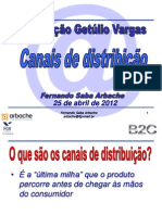 Canais de Distribuição
