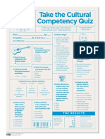 Cultural Competency Quiz