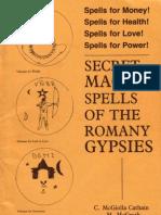 McGrath & Cathain - Secret Magick Spells of the Romany Gypsies