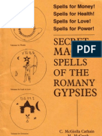 McGrath & Cathain - Secret Magick Spells of the Romany Gypsies