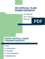 Super Critical Liquid Chromatography