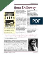 """""""La Señora Dalloway"""""""