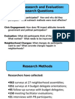 PBNYC Research Findings