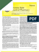 Arizona Board of Pharmacy November 2011