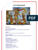 Cultura Maya - Resumen