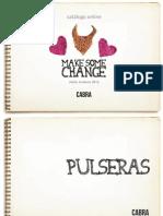 Cabra Accesorios - Catálogo Pulseras, Collares y Extras