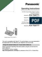KXTG5771 Panasonic Phone