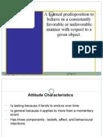 Attitudes - Lecture