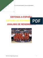 Defensa a España Estudio de Movimientos y Análisis de Rendimiento (Jose Miguel Vazquez Hermoso)