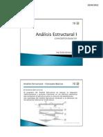 Tema 01 - Conceptos Básicos de Análisis Estructural