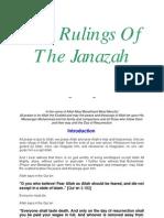En the Rulings of the Janazah