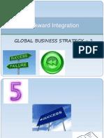 Backward Integration Grp2