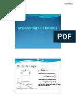Aplicaciones de Diodos Clase 2