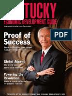 Kentucky Economic Development Guide 2012