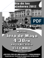 May Day Worcester Spanish