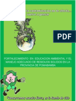 Plan Educacion Ambiental