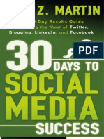 30 Days to Social Media Succes