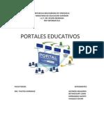 Portales educativos