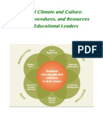 Resources for Educational Leaders Who Are Supporting the Development of School Culture