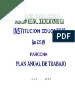 18514381 Plan de Trabajo Anual 2009