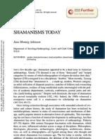 Shaman Isms Today - Atkinson