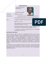 Hoja de Vida de Victor Manuel Molina