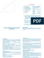 MANUAL Del Test de Matrices Progresivas de Raven