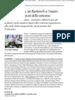 2011 - Aprile 02 - Corriere Della Sera - Radio Vaticana, Un Flashmob a Cesano - Paolo Brogi