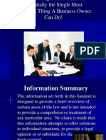 Incorporation Power Point