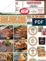 IGA's specials for the week of April 30th, 2012