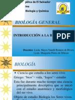Introduccion a La Biologia Clase 1