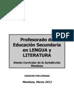 Plan Lengua y Literatura
