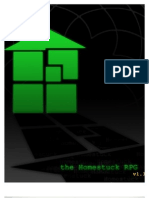 Homestuck - A Gamma World Conversion