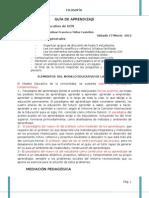 Tema El Modelo Educativo de Ucn y Estudio Del Syllabus
