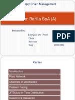 (C4) Barilla SpA2009